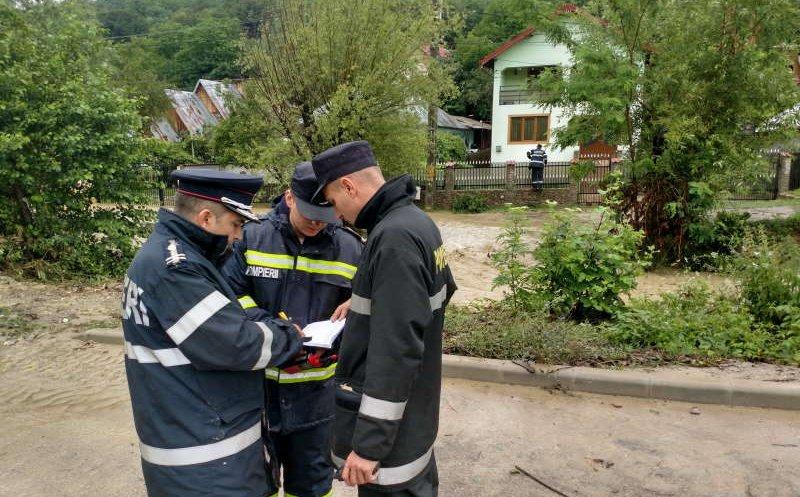 Pompierii clujeni au fost trimişi la inundaţiile din Moldova