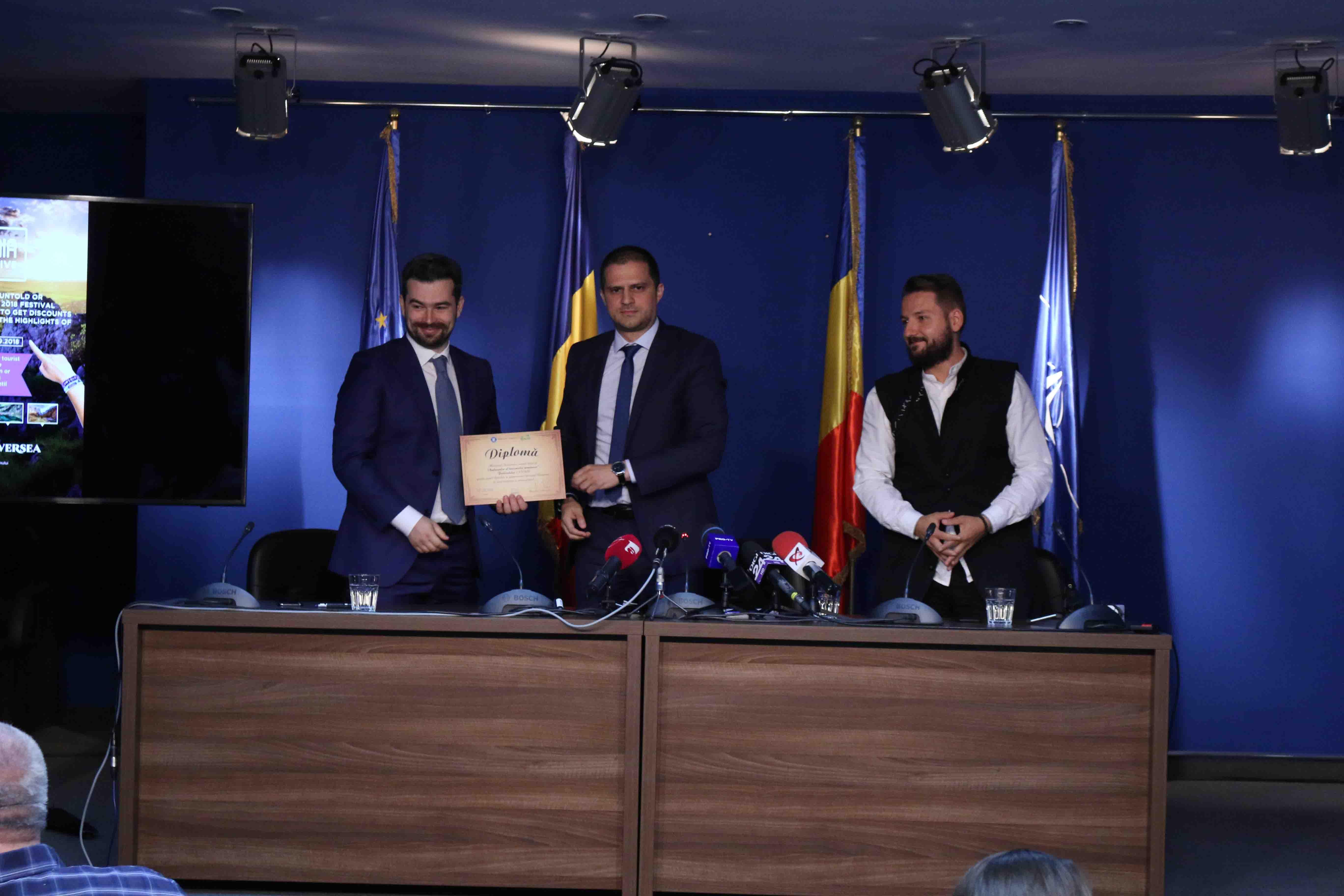 UNTOLD, primul brand Ambasador al turismului românesc!