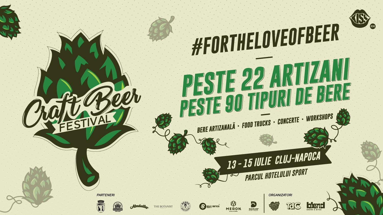Peste 20 de producători de bere artizanală, la a doua ediție a Craft Beer Festival