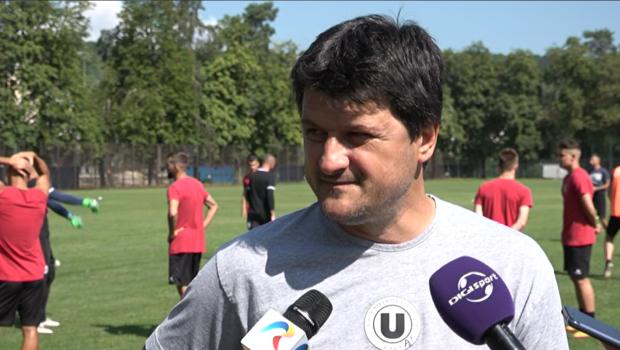 """""""U"""" Cluj a efectuat primul antrenament în """"Babeş"""" de la revenirea din cantonamentul din Italia!"""