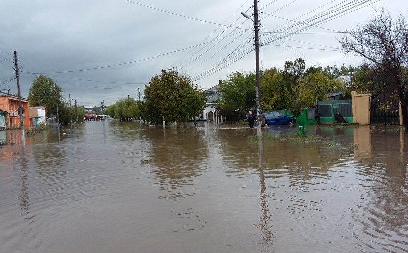 Cod galben de inundaţii pe mai multe râuri din judeţul Cluj!