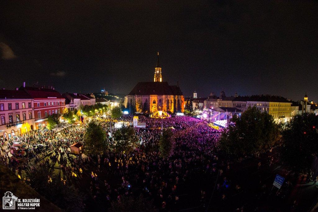 Spectacolul orchestrei celor 100 de țigani, Budapest Gypsy Symphony, a încheiat ediţia a 9-a a Zilelor Culturale Maghiare din Cluj! FOTO-VIDEO