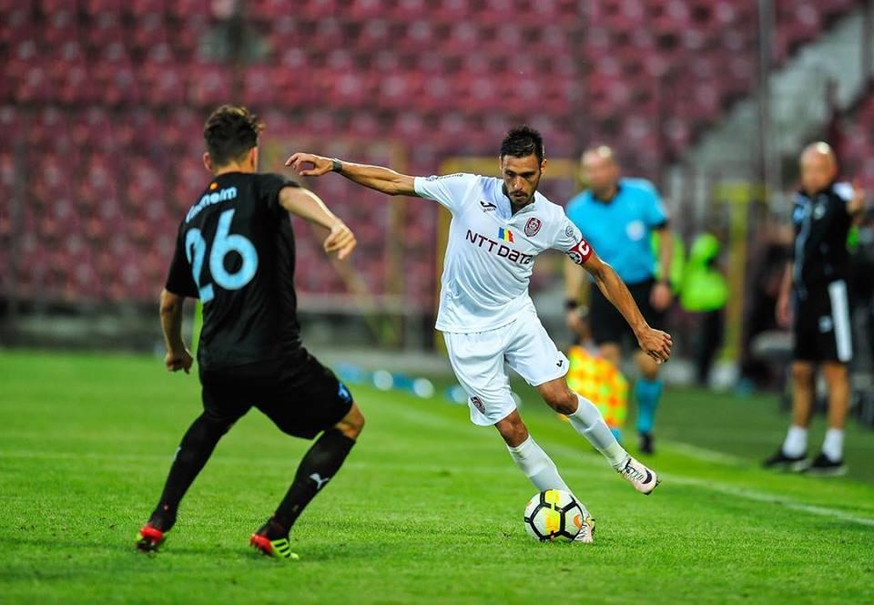 CFR Cluj va juca joi prima manşă a turului III preliminar al Europa League