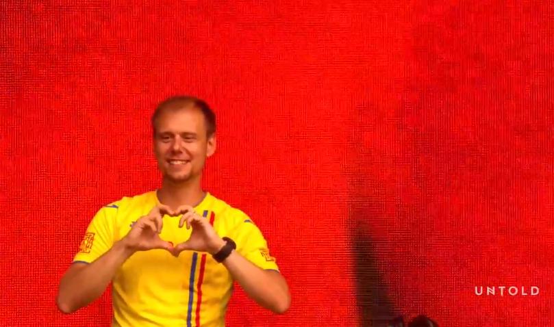 """Imnul oficial UNTOLD, compus de cel mai popular DJ, Armin van Buuren! """"Festivalul acesta are un loc special în inima mea"""""""
