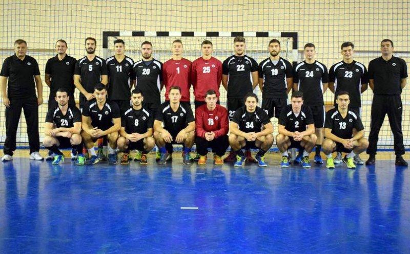 """""""U"""" Cluj a revenit în Liga Naţională de handbal masculin"""