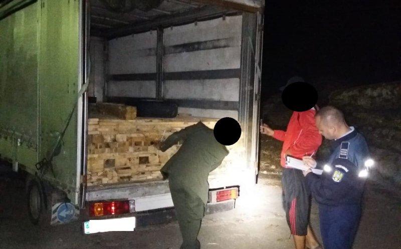 Polițiștii clujeni și Garda Forestieră Cluj au confiscat lemne de 7000 lei și au aplicat amenzi de 10.000 lei!