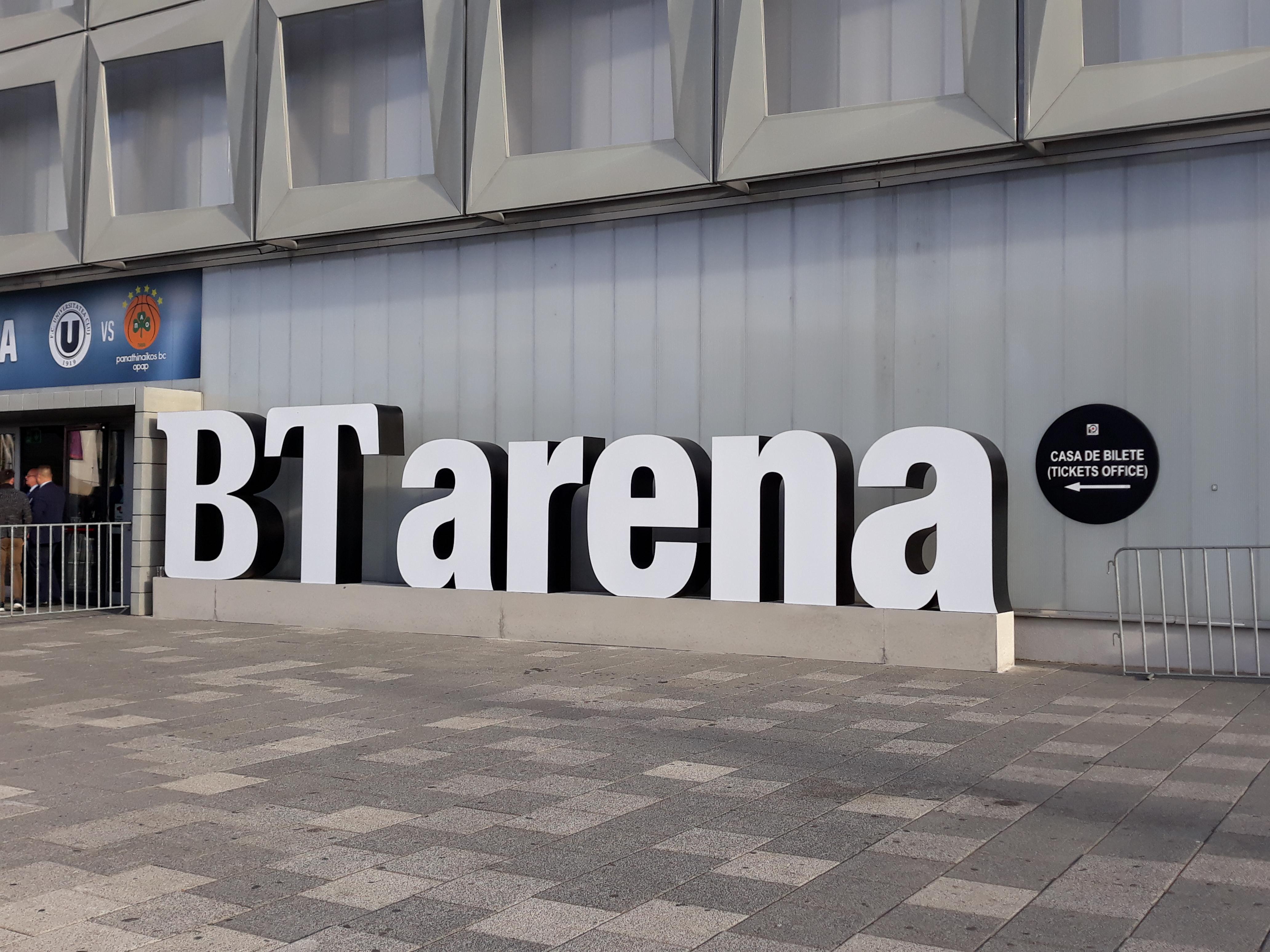 Sala Polivalentă devine oficial BT Arena