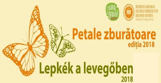Expoziţie de fluturi, organizată la Grădina Botanică din Cluj!