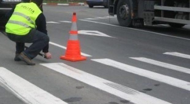 O pensionară a fost lovită pe trecerea de pietoni de un şofer beat în Grigorescu!