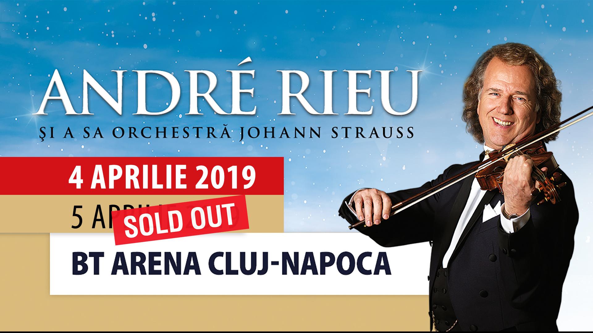 Interes uriaş – André Rieu va susţine un al doilea concert la Sala Polivalentă din Cluj-Napoca! Biletele primului concert, epuizate astăzi în 3 ore!