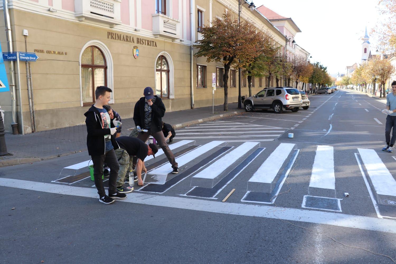 Zebra 3D, soluție ingenioasă pentru prevenirea accidentelor