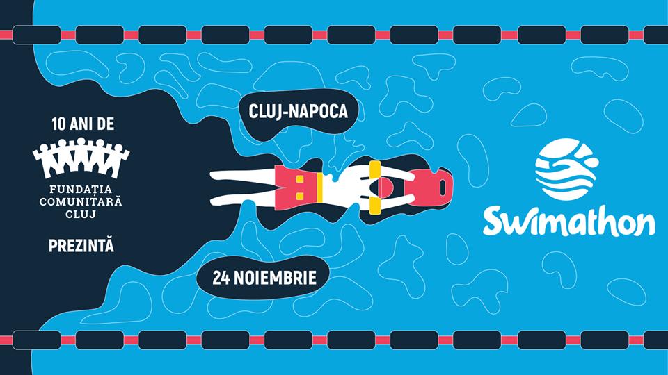 Iarna pe val la Swimathon 2018 – Înoată în scop caritabil pentru unul dintre cele 10 proiecte din comunitatea clujeană!