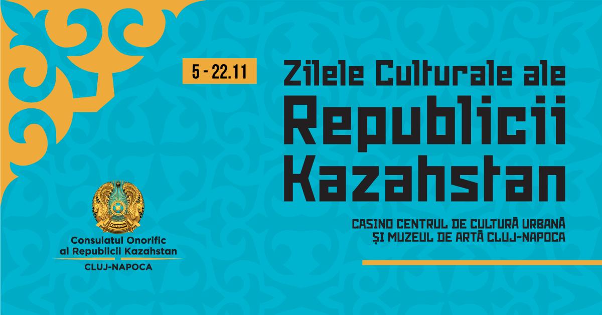Clujenii sunt așteptați să admire artă kazahă în perioada 5–22 noiembrie, în cadrul  Zilelor Culturale ale Republicii Kazahstan