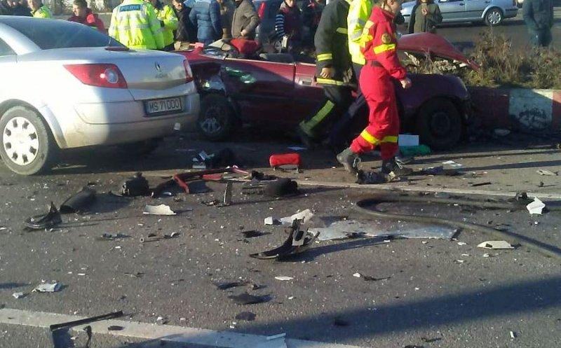 O șoferiță din Cluj a murit în urma unui impact cu un TIR