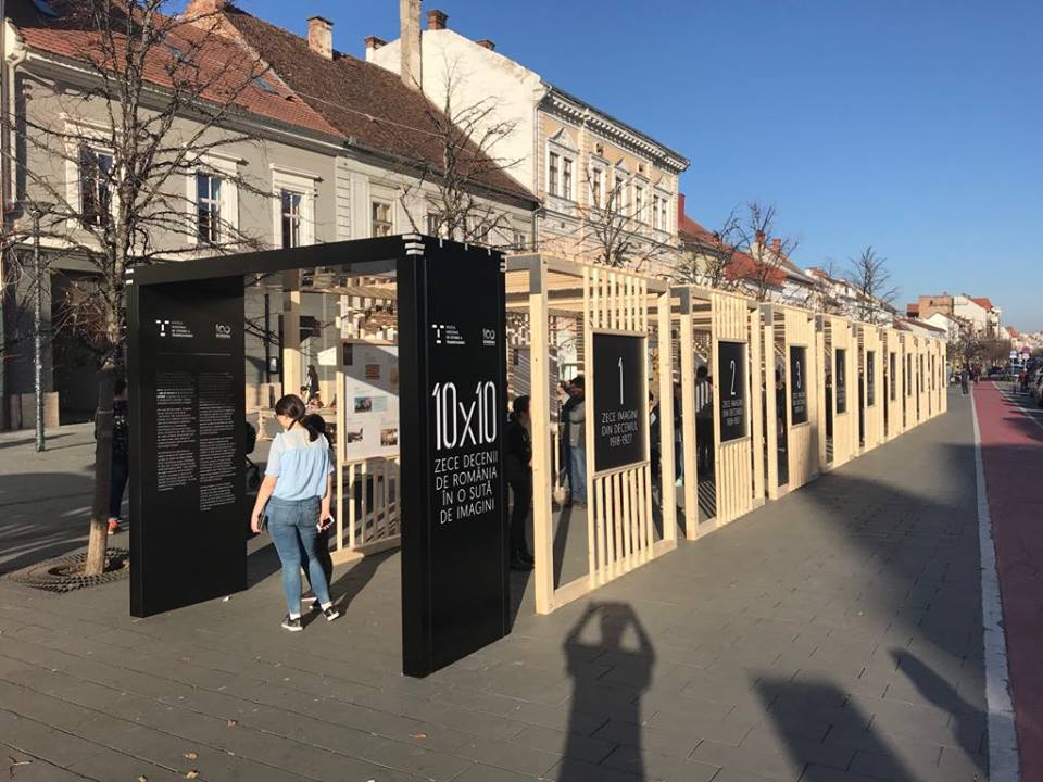 """Muzeul Naţional de Istorie a Transilvaniei aduce trecutul în centrul Clujului, într-o expoziţie inedită """"10 x 10 – Zece decenii de România în o sută de imagini"""""""