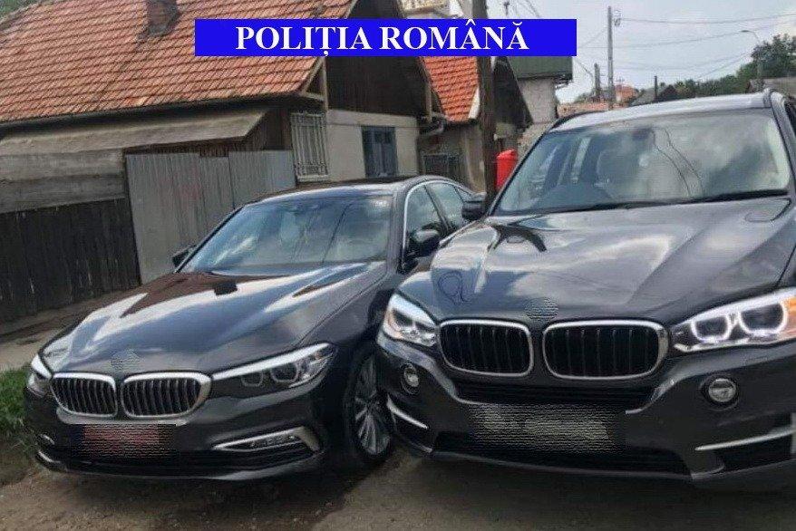 Patru samsari de maşini, reţinuţi de poliţişti în Huedin! Au fost confiscate autoturisme în valoare de 150.000 euro!