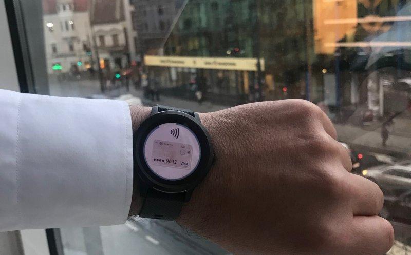 Banca Transilvania şi GARMIN lansează o nouă inovaţie: plata contactless cu smartwatch-ul!