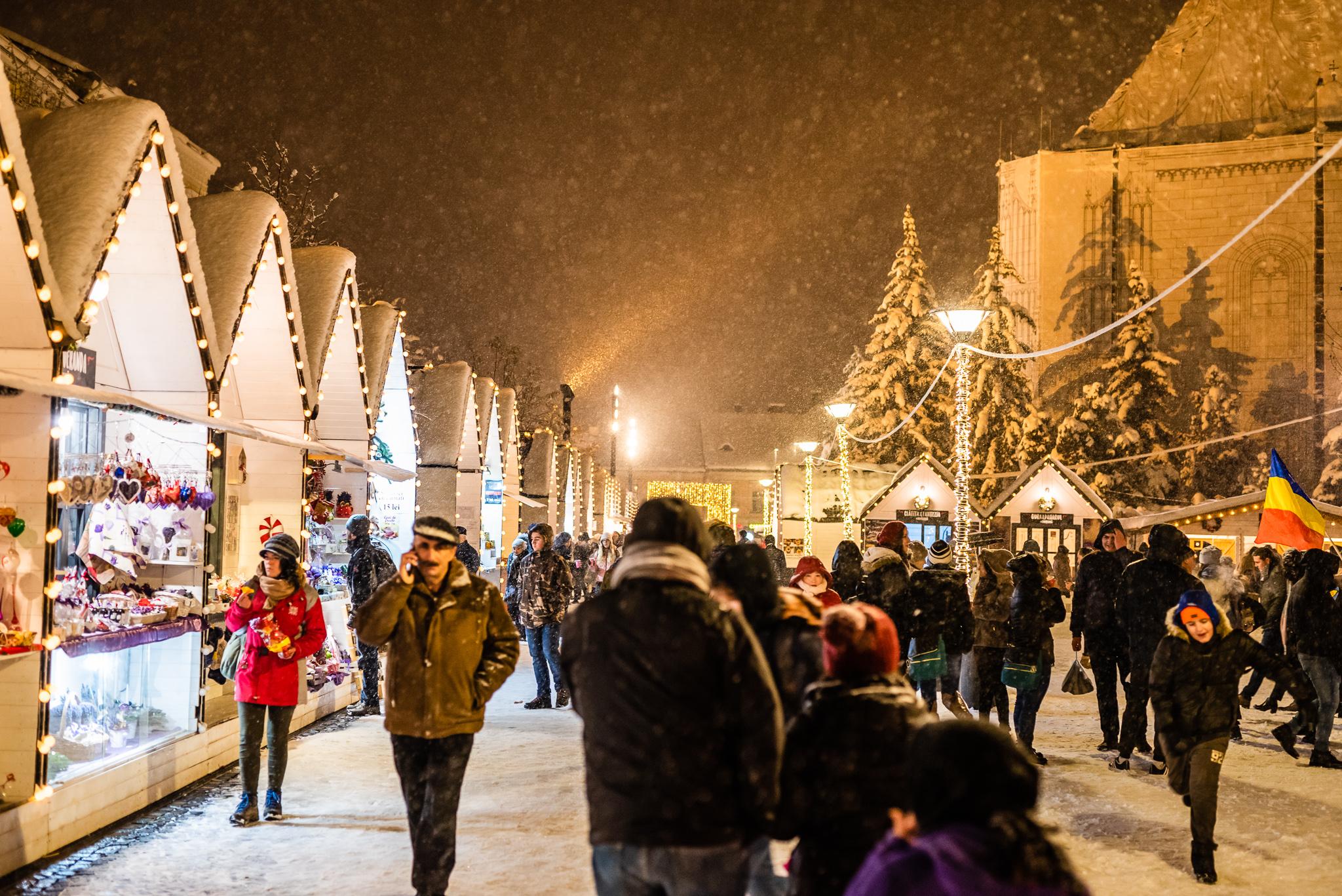 La Târgul de Crăciun din Cluj-Napoca începe Săptămâna Jocurilor şi a Filmelor! VEZI PROGRAMUL