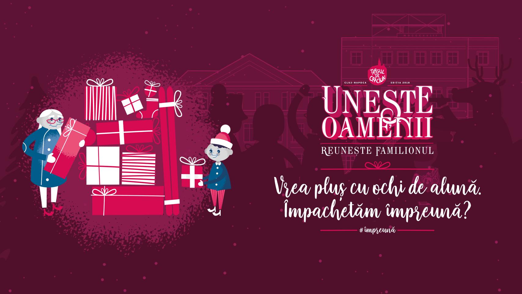 Începe Săptămâna Cadourilor la Târgul de Crăciun Cluj!