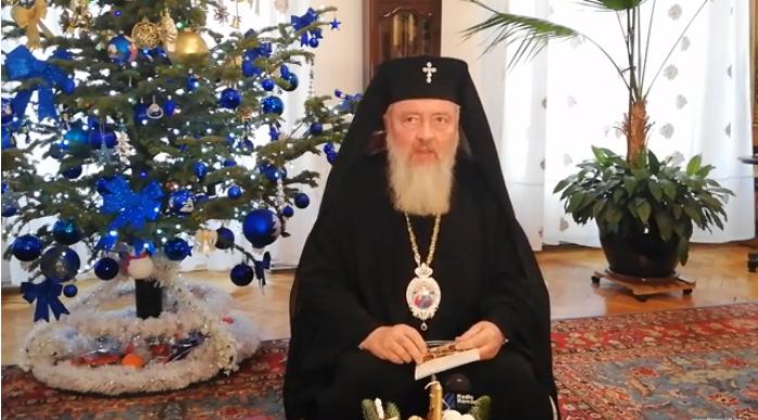 Mesajul de Crăciun și Anul Nou al Mitropolitului Clujului, Andrei!