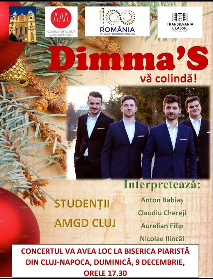 Concert de colinde, pe 9 decembrie, în Biserica Piaristă – Intrare liberă!