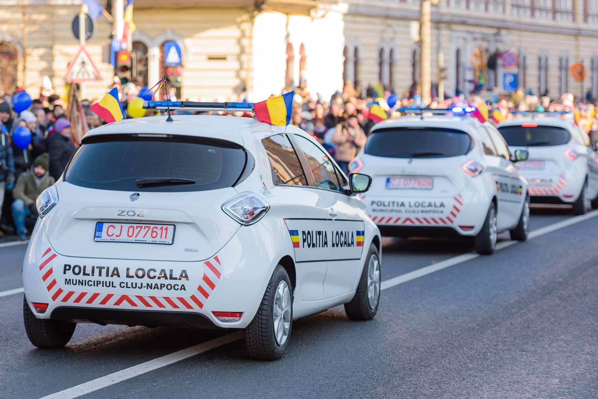 Încă două mașini electrice vor intra în dotarea Poliției Locale din Cluj-Napoca