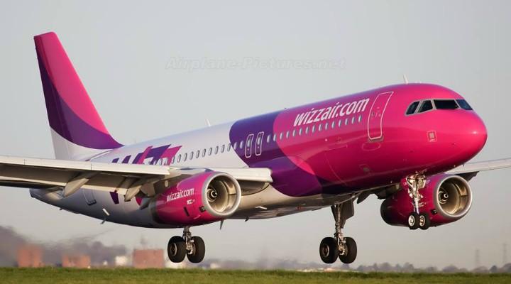 O nouă rută de la Cluj-Napoca la Birmingham, introdusă de Wizz Air
