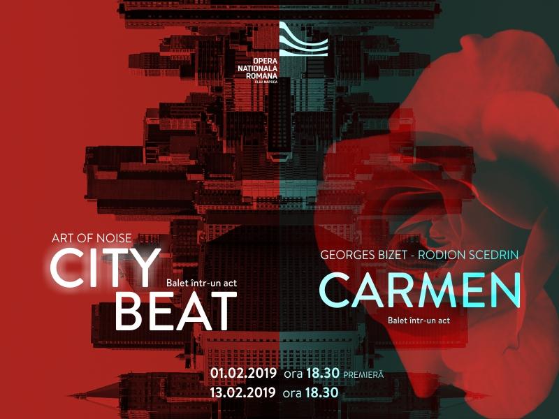 """""""City Beat / Carmen"""", o premieră coregrafică rebelă, la granița dintre modern și clasic, pe scena Operei Naționale Române din Cluj!"""