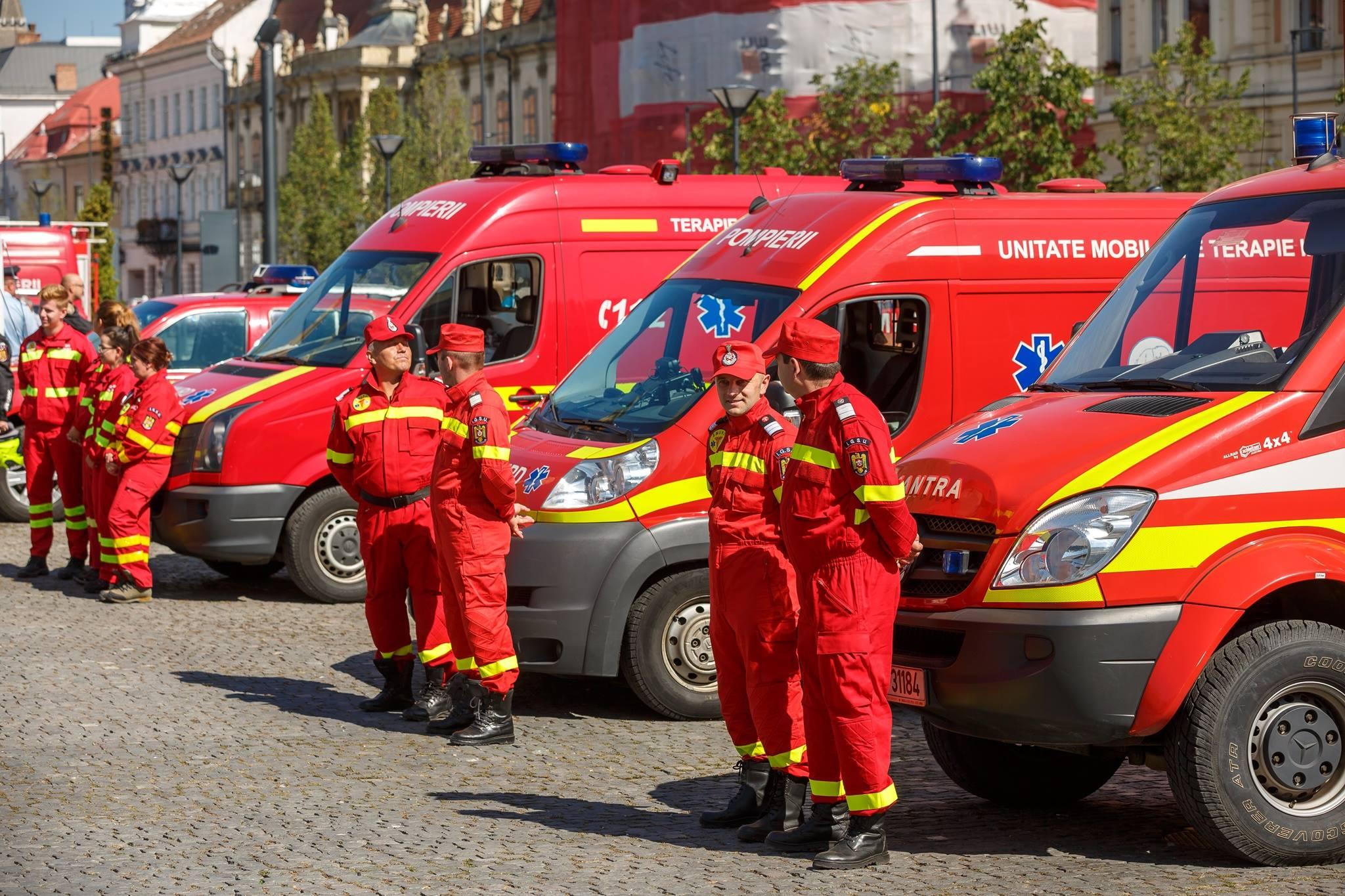 Primăria Cluj-Napoca sprijină anul acesta serviciul SMURD Cluj cu 120.000 lei de la bugetul local