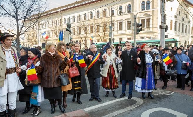 """40.000 de euro din bani publici dați de primăria Clujului pe evenimentele dedicate """"Micii Uniri"""" din 24 ianuarie"""