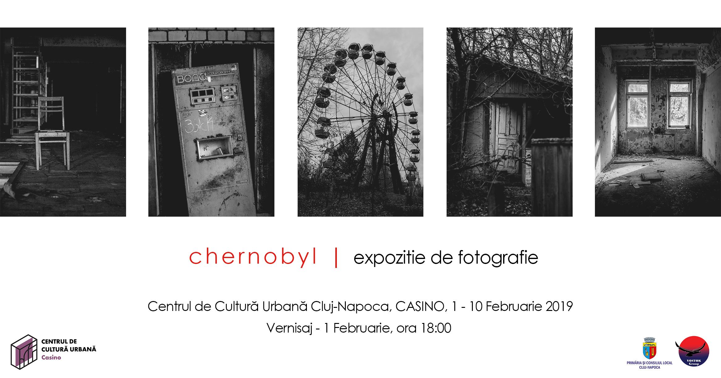 """Expoziția de fotografie """"Cernobyl"""", timp de zece zile, la Centrul de Cultură Urbană Casino"""