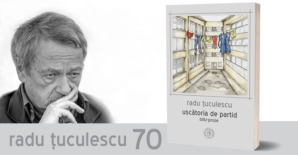 Scriitorul clujean Radu Țuculescu, aniversat la 70 ani cu un concert de jazz și lansarea ultimului său volum de poezii, la Auditorium Maximum!