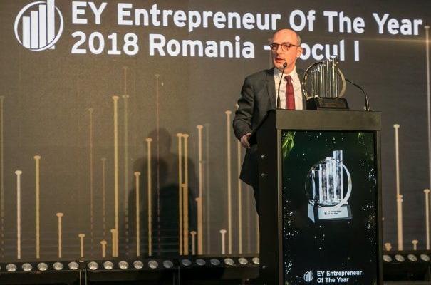 Proprietarul clădirii The Office din Cluj-Napoca, desemnat Antreprenorul Anului 2018!