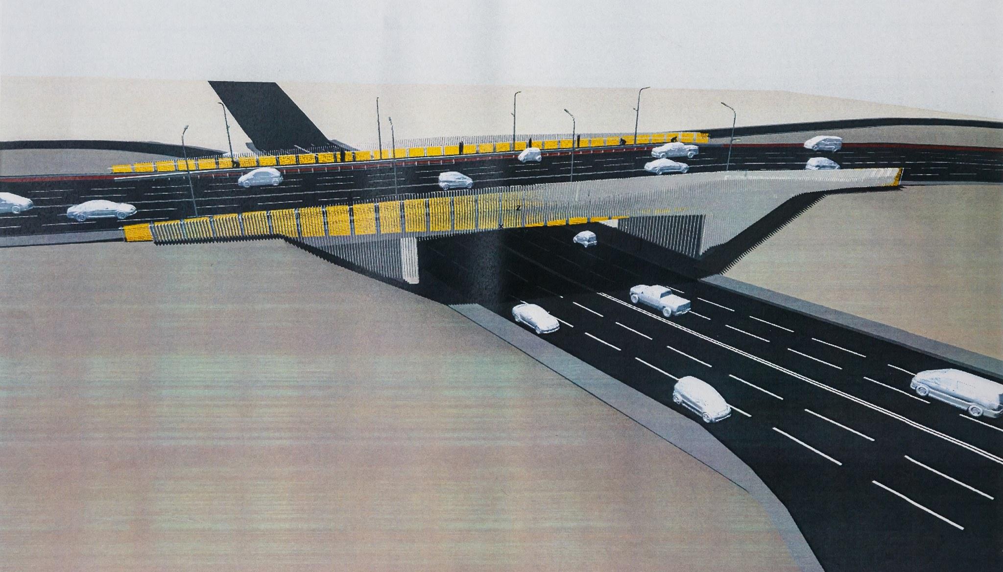 """Cum va arăta Podul """"N"""" din Mănăștur după finalizarea lucrărilor de modernizare? Investiția se ridică la 6 milioane de lei!"""