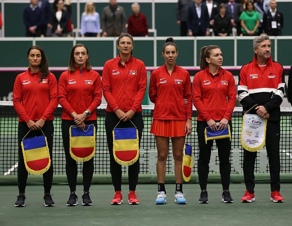 Simona Halep, Mihaela Buzarnescu, Irina Camelia Begu, Monica Niculescu și Raluca Olaru, în echipa României pentru semifinala Fed Cup cu Franța