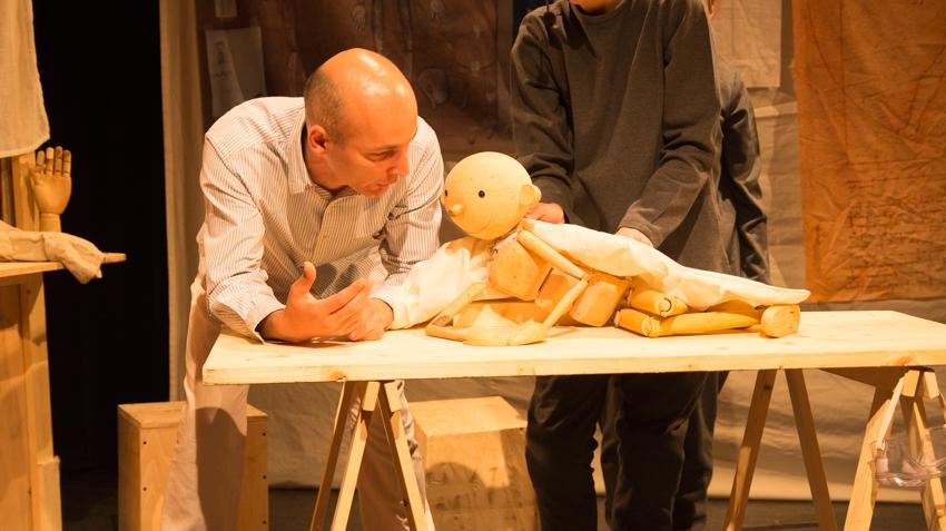 "Pinocchio, eroul spectacolelor din weekend de la Teatrul ""Puck"""