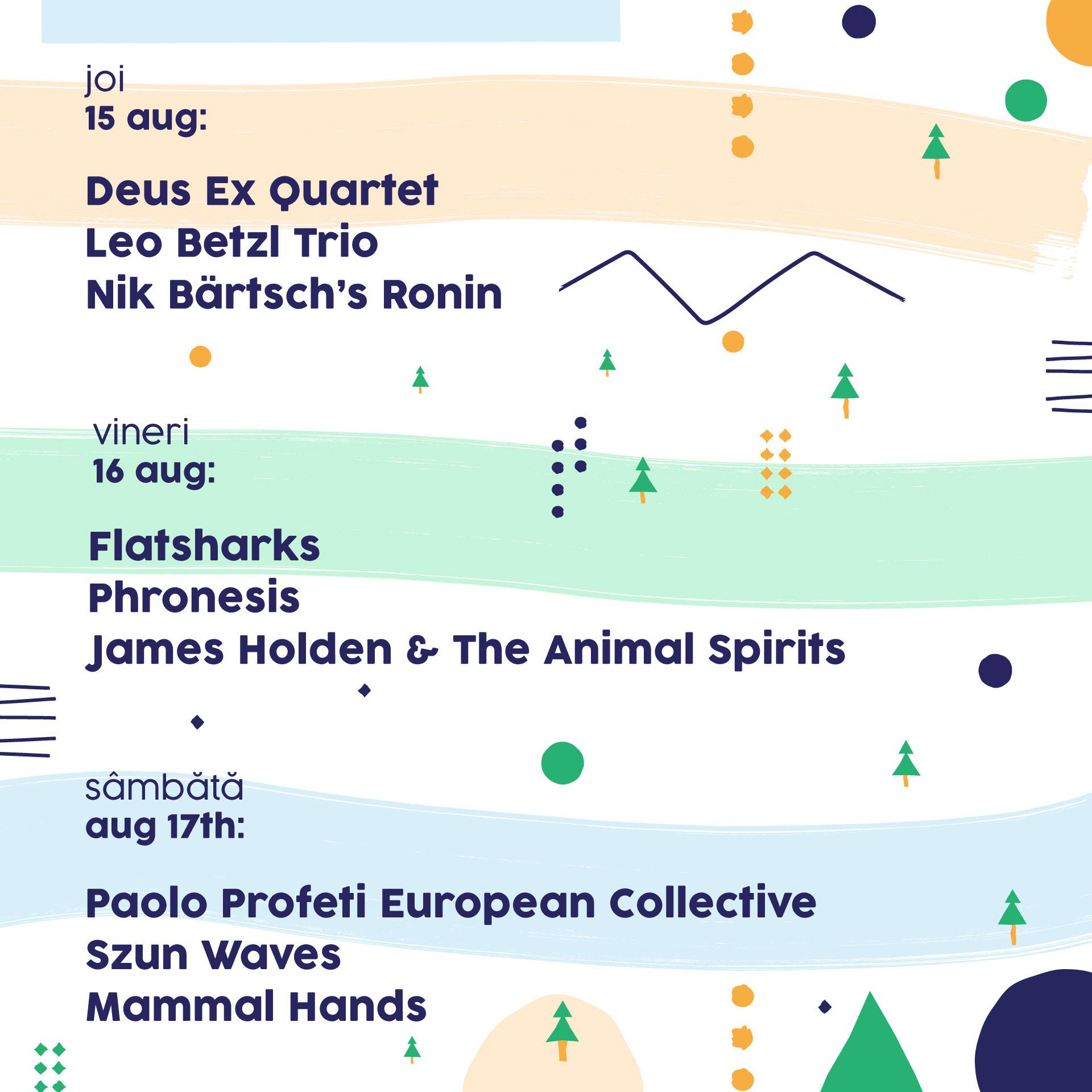 Ce artiști vin la ediția a 4-a de SMIDA Jazz Festival!