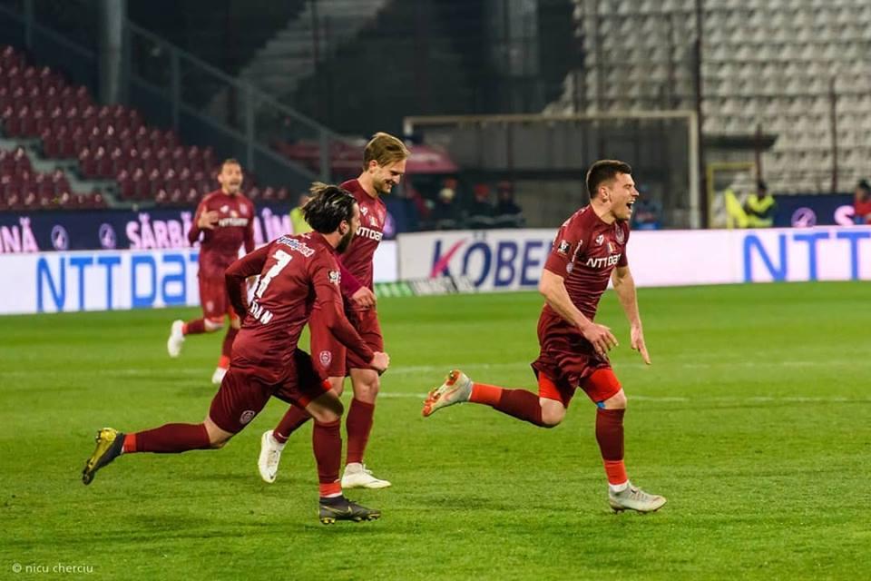 Victorie în stil italian pentru CFR Cluj la primul meci de la revenirea lui Dan Petrescu: 1-0 cu Astra Giurgiu!