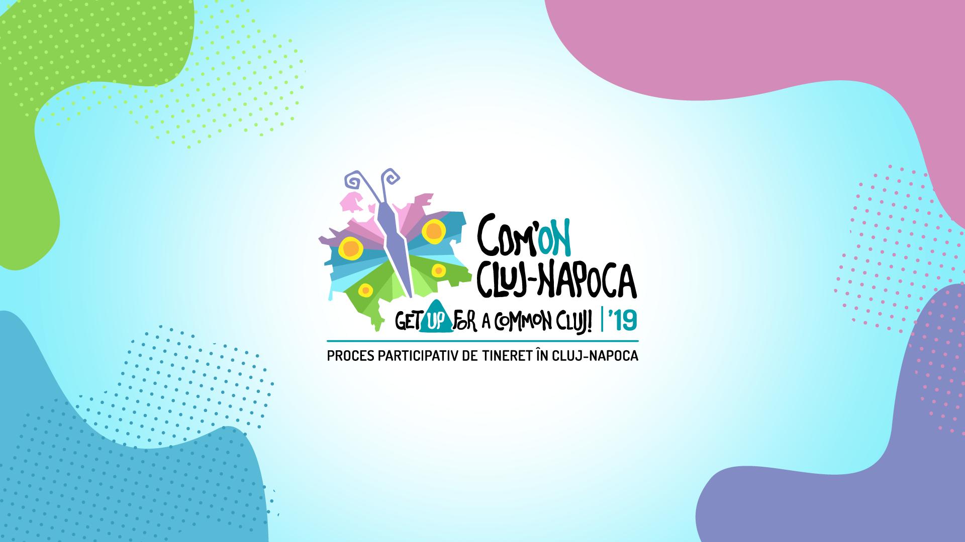 Peste 3000 de clujeni au acordat aproape 10.000 de voturi inițiativelor tinerilor pentru dezvoltarea orașului, în cadrul Com'ON Cluj-Napoca 2019!