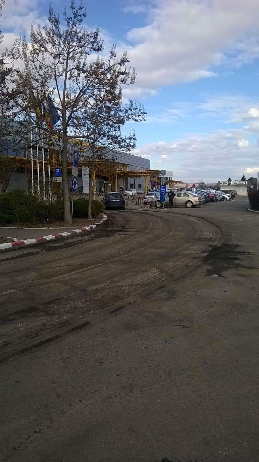 În sfârșit – au început lucrările la parcarea aeroportului clujean