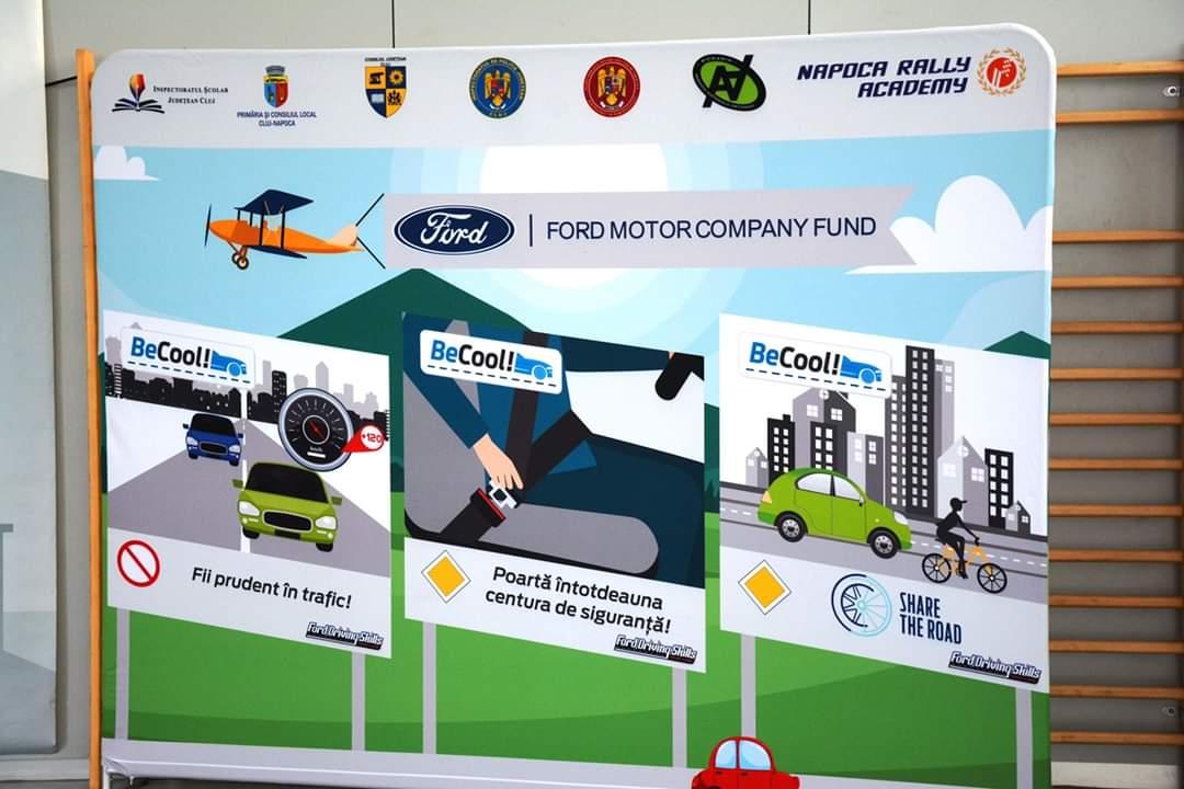 CJ Cluj, promotor al unui inedit workshop de educație rutieră destinat celor mai tineri dintre conducătorii auto