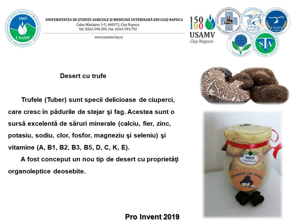 """Aproape 80 de produse prezentate de studenții USAMV Cluj-Napoca, la Salonul """"Pro Invent 2019"""""""