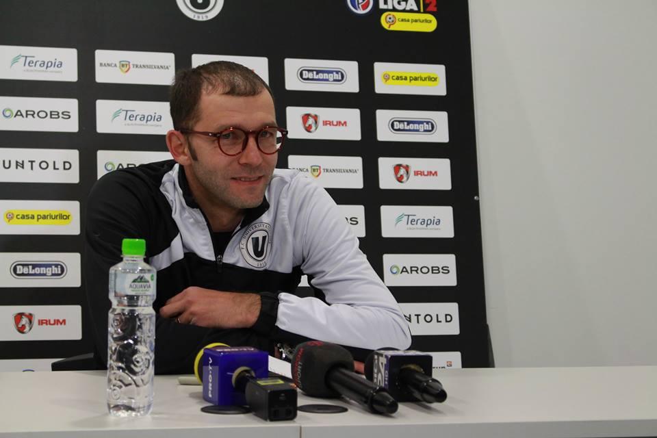 """""""U"""" Cluj are un singur gând înaintea derby-ului de tradiție cu FC Argeș  -""""VICTORIA""""!"""