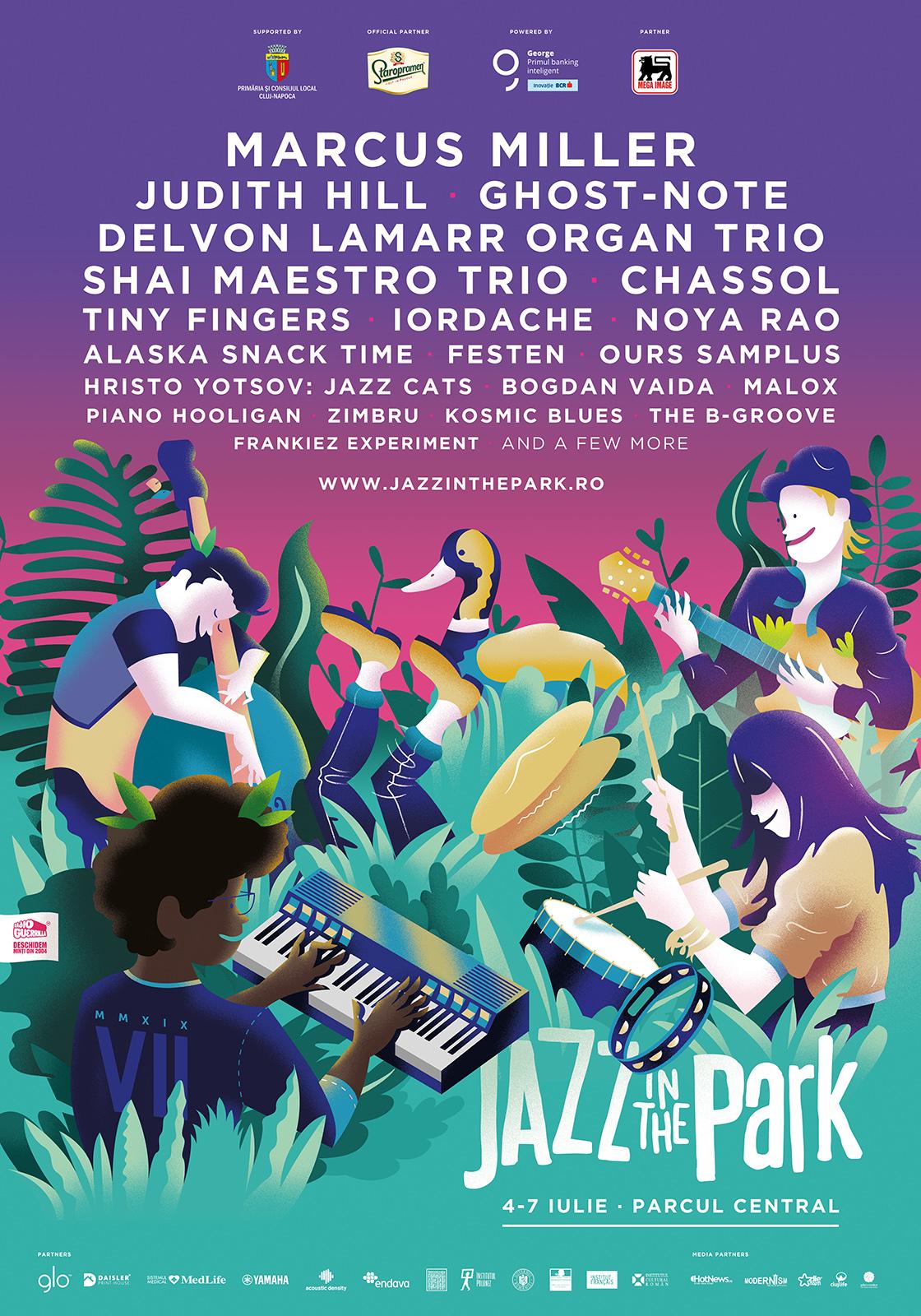 Artiști de talie internațională din America vin în acest an la Jazz in the Park 2019!