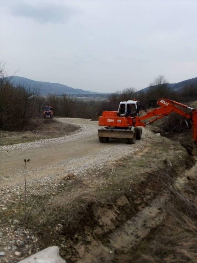 Lucrări pe drumul județean 109E Dej – Vad – limită cu județul Sălaj
