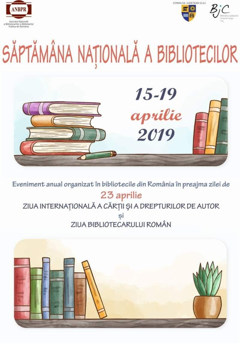 """""""Săptămâna Națională a Bibliotecilor"""" marcată și de Biblioteca Județeană """"Octavian Goga"""""""