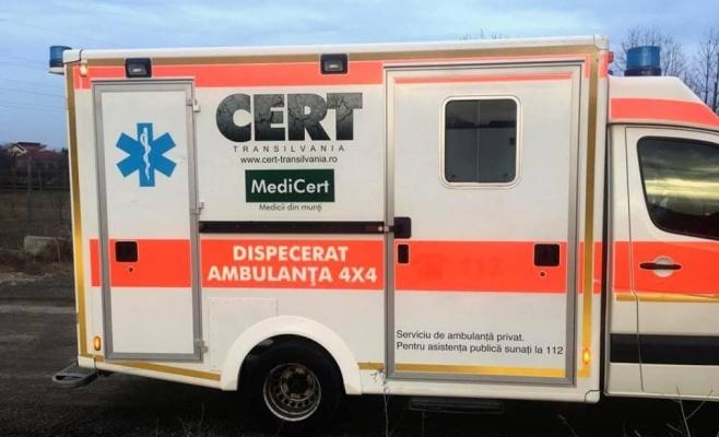 Ambulanță 4×4 achiziționată de voluntarii CERT Transilvania pe zonele montane