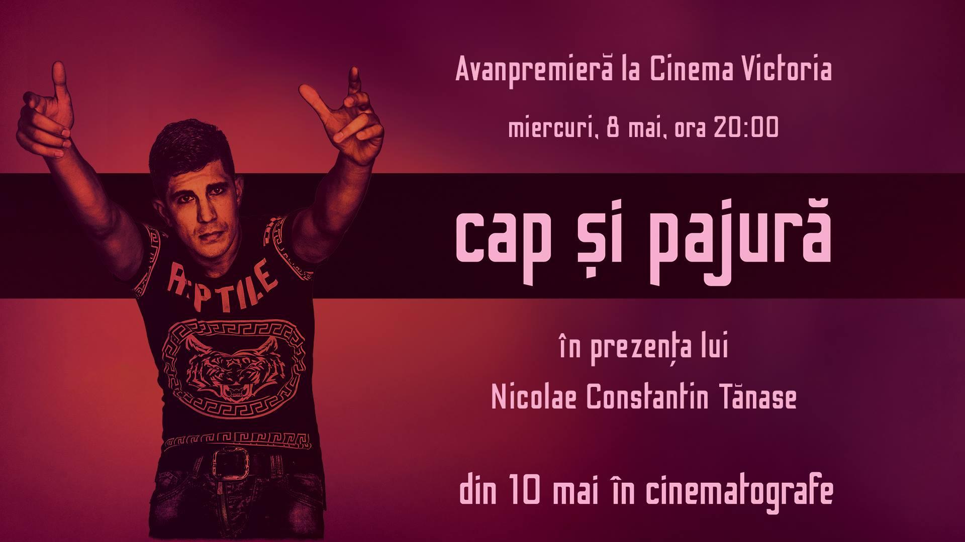 """Premiera filmului cu Florin Salam în distribuţie, """"Cap şi Pajură"""", premieră de gală la Cinema Victoria din Cluj!"""