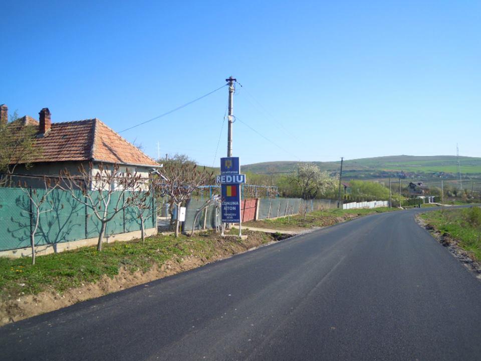 Asfaltarea drumului județean 103M Vâlcele – Rediu – Aiton a fost finalizată