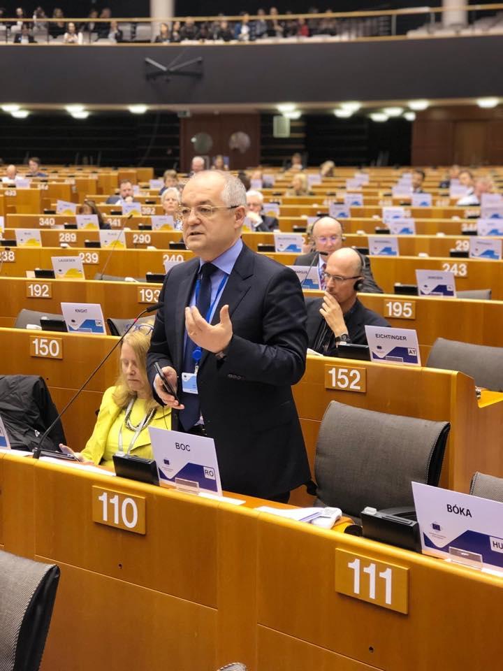 """Emil Boc, la Bruxelles: """"Să investim mai mult în ceea ce ne face mai europeni: Tineret, Cultura și Coeziune"""""""